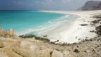 Bucht von Qalansiyah, Insel Sokotra, UNESCO-Weltnaturerbe, Jemen.