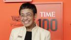 Maria Ressa wurde vom US-Magazin «Time» zur Persönlichkeit des Jahres gekürt.