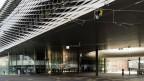 Gebäude der Messe Basel in Basel.