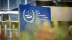 Aussenansicht des Internationalen Strafgerichtshofs in Den Haag.