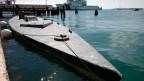 Ein Halbtaucher-Schiff, das mit etwa sieben Tonnen Kokain im Pazifischen Ozean erwischt wurde.