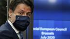 Italiens Premierminister Giuseppe Conte am EU-Gipfel in Brüssel.