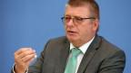 Thomas Haldenwang, der Präsident des deutschen Bundesamtes für Verfassungsschutz.