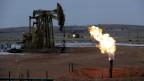 Ölpumpe bei Watford City in den USA.
