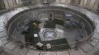 Bauarbeiten am ITER-Reaktor in Frankreich.