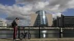 Das neue Dublin: Der Wandel ist auch in der Architektur offensichtlich (gekippter Zylinder des Kongresszentrums.