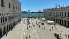 Venedig wegen der Corona-Pandemie praktisch ohne Touristen. Für viele Einheimische eine Freude, für die Wirtschaft ein schwerer Schlag.