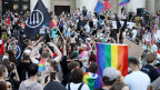 Proteste der LGBT-Bewegung in Polen.