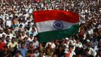 In Indien demonstrieren die Menschen gegen das neue Einbürgerungsgesetz.