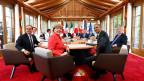 Am G7-Gipfel soll der Aufbau einer Truppe von «Weisshelmsoldaten» zur weltweiten Bekämpfung von Seuchen beschlossen werden.