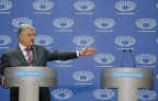 Poroshenko debattierte ohne Selenski
