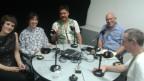 Eric Facon (2. v. rechts) mit seinen Gästen.