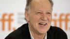 Hat gut lachen: Filmemacher Herzog erhält einen Ehrenleoparden.