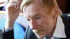 Otto Sander am 31. Mai 2013 bei der Präsentation seines Films «Bis zum Horizont, dann links!» in Berlin.