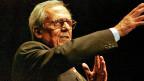 Dieter Hildebrand an den Oltner Cabarettagen 2002.