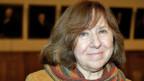 Svetlana Alexievich. Archiv-Aufnahme aus dem Jahre 2013