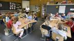 Ähnlich wie in Burgdorf sind in der Primarschule Davos Monstein alle sechs Primarstufen in einer Klasse als Gesamtschule zusammengefasst.