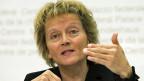 Bundesrätin Eveline Widmer-Schlumpf. Der Bundesrat folgt dem Rat der Nationalbank und aktiviert einen «antizyklischen Kapitalpuffer».