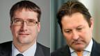 Christian Levrat und Pascal Gentinetta.