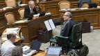 Nationalrat Christian Lohr ist enttäuscht über den Entscheid des Ständerates zu den IV-Renten.