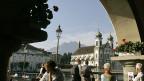 Blick auf die Jesuiten-Kirche in Luzern.