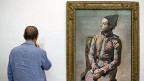 «Sitzender Harlekin» von Pablo Picasso im Kunstmuseum Basel.