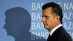 Philipp Hildebrand, Präsident der Schweizer Nationalbank, an der Medienkonferenz am 5. Januar 2012 Zürich.