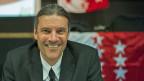 Oskar Freysinger ist der erste Walliser Regierungsrat der SVP.