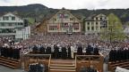 Landsgemeinde von Appenzell Innerrhoden am 29. April 2012.