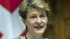 «Schnapsidee» sagt Bundesrätin Sommaruga zur SVP-Forderung, die Verträge von Schengen und Dublin zu kündigen.