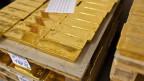 Über 70 Prozent der Goldreserven sollen in der Schweiz lagern.