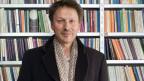 Matthias Zschokke, Schweizer Autor und Schauspieler, am 8. März 2006 in der CoalMine BookBar in Winterthur.