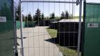 Ansicht des umstrittenen Asylaufnahmezentrums auf dem Jaunpass im Berner Oberland. Symboldbild.