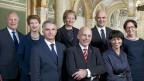 Die Schweizer Stimmbürger wollten bis anhin den Bundesrat nicht selbst wählen. So  sagten sie bereits zweimal deutlich klar NEIN zur Bundesratswahl durch das Volk. Bild des Gesamtbundesrats 2013.
