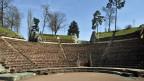 Das römische Theater in der Aussenanlage von Augusta Raurica in Augst.