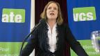 Die neue VCS-Präsidentin Evi Allemann; der ökologisch orientierte VCS agiert häufig erfolgreich - anerkennen sogar politische Gegner.