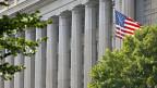 Im Ständerat wird die «Lex USA» diskutiert. Bild: Der Sitz der US-Steuerbehörde IRS in Washington D.C