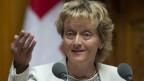 Bundesrätin Eveline Widmer-Schlumpf: Stets ruhig und überlegt.