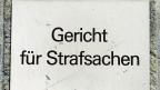 Strafgericht in Basel.