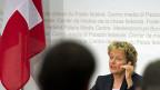 Bundesrätin Eveline Widmer-Schlumpf präsentiert den «Plan B» zur Lösung des Steuerstreits mit den USA.