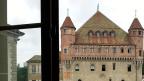 Blick aus dem Fenster von Doris Fialas Büro in Lausanne.