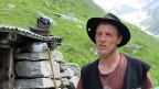 Der Thurgauer Hirt Samuel Sutter auf der Alp Rappental.