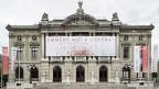 Kultur in Genf - das Grand Theatre auf der Place Neuve.