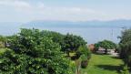 Ausblick von Isabelle Guisanns Wohnung auf den Lac Léman.