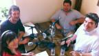 Die Diskussionsrunde in Chiasso.