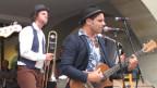 Strassenmusiker am Buskers 2013.