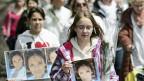 Trauermarsch für die ermordete Marie, am 20. Mai 2013.