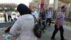 Flüchtlinge aus Syrien an der Grenze zur Türkei. 500 von sechs Millionen dürfen in den kommenden drei Jahren in die Schweiz kommen.