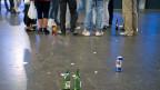 Rund um Clubs und Discos, an den Wochenenden spätnachts, passieren die meisten Gewaltverletzungen.