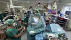 Herzoperation am Kinderspital der Universität Zürich.